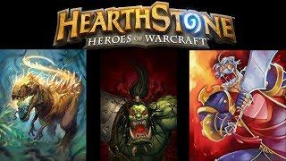 Hearthstone Rushing Warrior, Charging Dinos and Spiteful Murloc Pally?