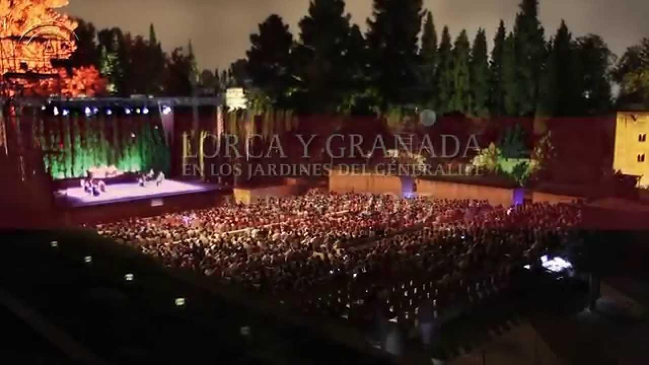 Lorca y granada en los jardines del generalife 2015 youtube for Los jardines del califa