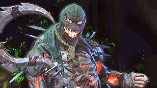 INJUSTICE 2 Scarecrow, Bane, Captain Cold, and Gorilla Grodd Gameplay Trailer (2017) Justice League