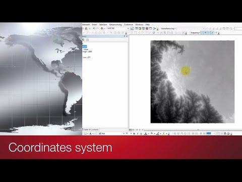 Coordinates system