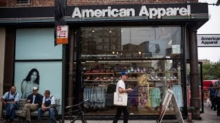 American Apparel Files for Bankruptcy, Hopes to Survive