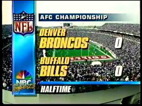 1991 AFC Championship Game 12-4 Denver at 13-3 Buffalo 2nd half