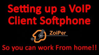 Zoiper VoIP app Setup on Windows and IOS with 4COMMS VoIP | SIP Client Setup screenshot 2