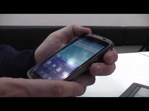 Medion 4,3 Zoll Smartphone mit Android 2.3 auf der IFA 2011 (BASE Lutea 2)
