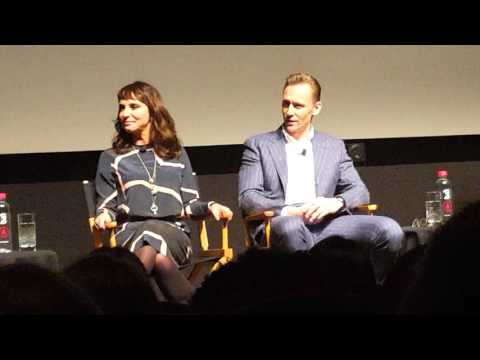 Tom Hiddleston and Susanne Bier discussing The Night Manager at the Tribeca Film Festival!
