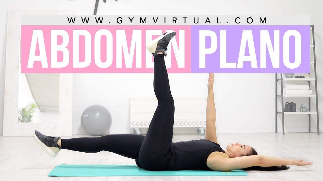 rutina abdominales gym virtual