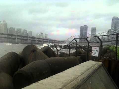 Busan typhoon