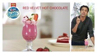 #LoveWinter Red Velvet Hot Chocolate