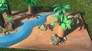 Dinozaury dla dzieci cz.6 - Triceratops i Ceratozaur