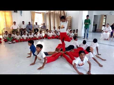 Divya Nagari Children Performing Musical Yoga