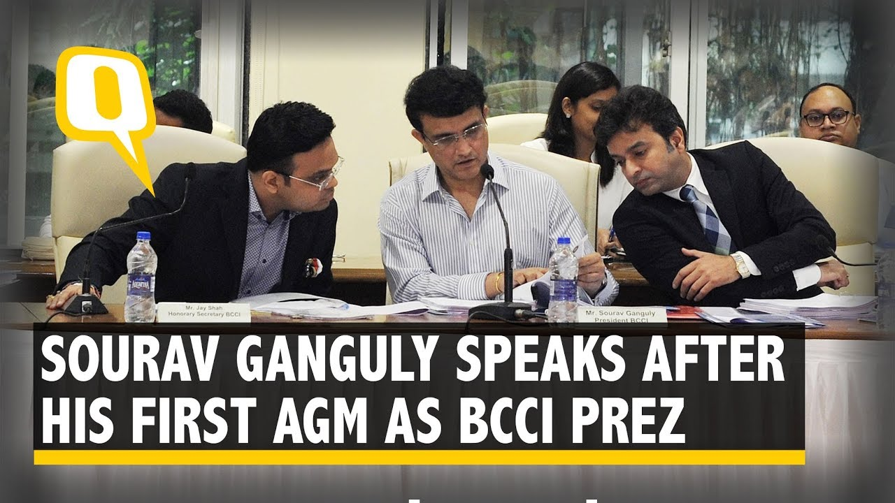 Ganguly To Continue As BCCI Chairman Until 2024