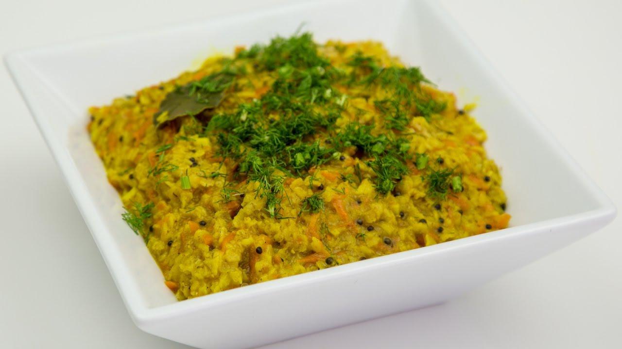 Блюда на Великий Пост- Овсяная каша по индийский
