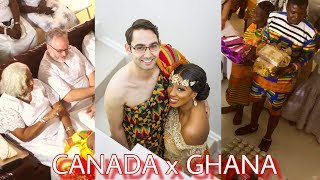 Beautiful Ghanaian Traditional WEDDING, GHANA Meets CANADA collage vlog #2