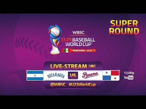 No. 18 Nicaragua v No 15 Panama - Super Round - U-23 Baseball World Cup 2016 - Gm 31