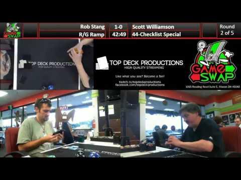 FNM Standard 08/26/16: Robert Stang (R/G Ramp) vs Scott Williamson (44-Checklist Special)