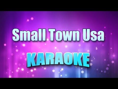 Justin Moore - Small Town Usa (Karaoke Version With Lyrics)