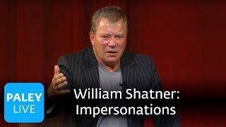 William Shatner - Kevin Pollak's Impersonation (Paley Center Interview, 2004)