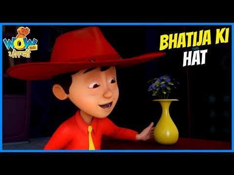 Punjabi Cartoon  Chacha Bhatija  Punjabi Stories For Kids  Bhatije Ki Hat  WowKidz Punjabi
