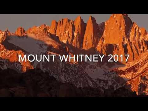 Mount Whitney 2017