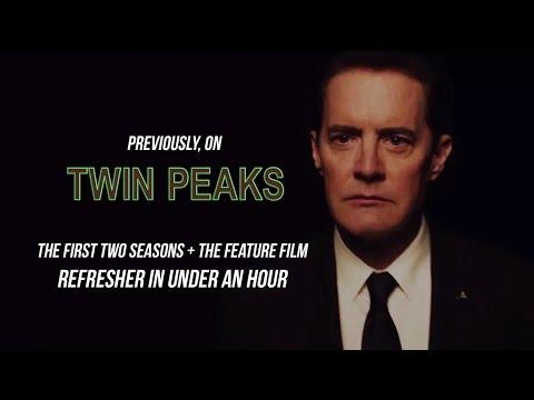 Twin Peaks Recap/Epic Retrospective (First Two Seasons + Fire Walk With Me)