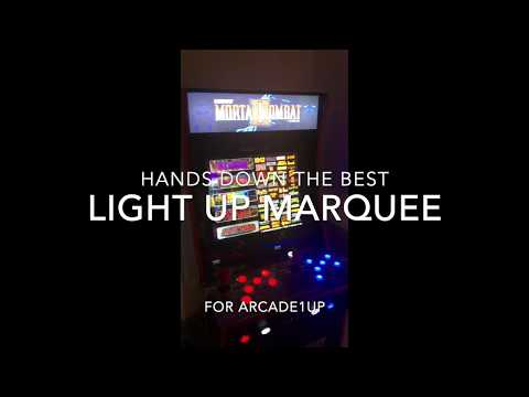 Download Arcade1up Ep 7 Light Up Led Marquee Mod With