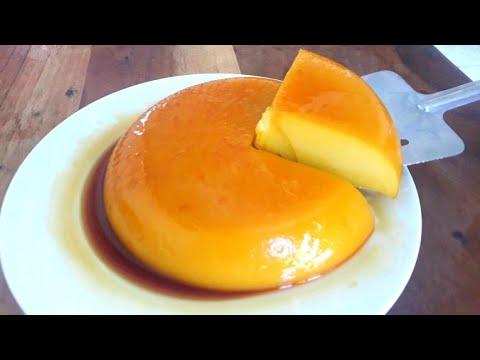 Flan De Naranja Sin Horno Sin Huevo Fácil Y Riquisimo Youtube