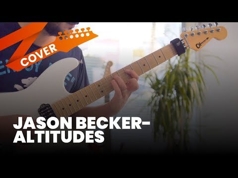 Jason Becker - Altitudes Cover (Sweep Picking Arpeggios)