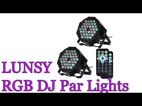 LUNSY RGB Stage Lights Review