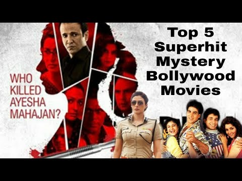Top 5 Superhit Bollywood Mystery Movies. || Must Watch || Top 5 Thrillers