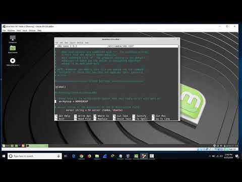 Samba File Sharing From Mint 19 To Windows 10
