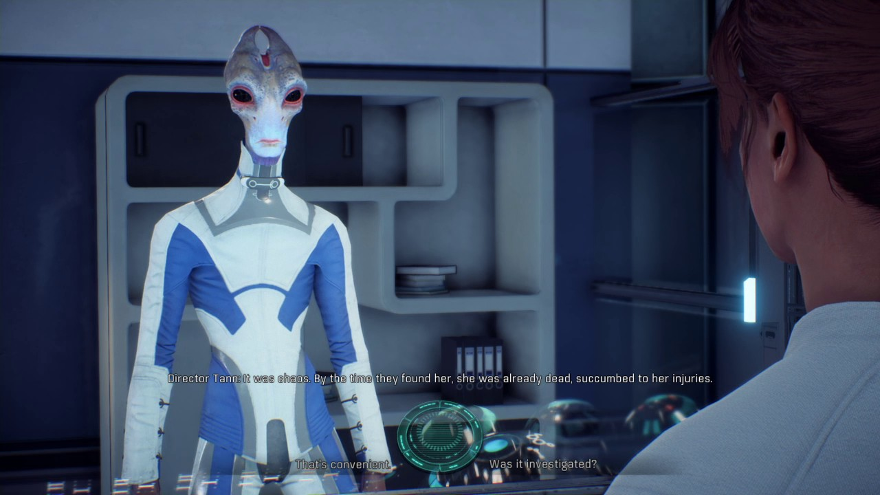Mass Effect™ Andromeda (PS4) Sara Ryder learns more about Jien