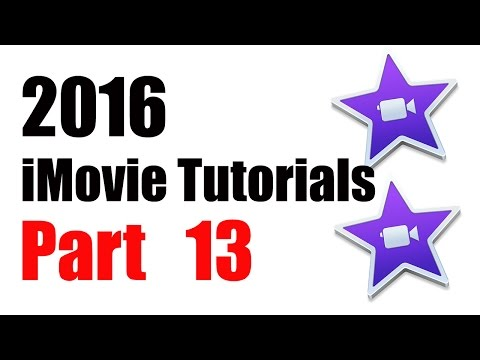 13. How to Add / Import iTunes Song to iMovie 10.1 (2016)