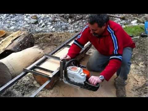 Tavoloni con la motosega for Motosega fissa