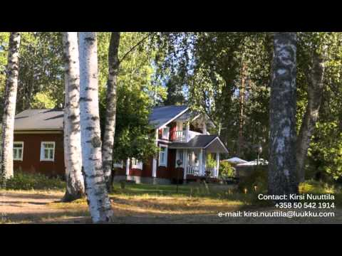 Villa Lakka - Finland rental holiday cottage. 2 hours drive from Helsinki