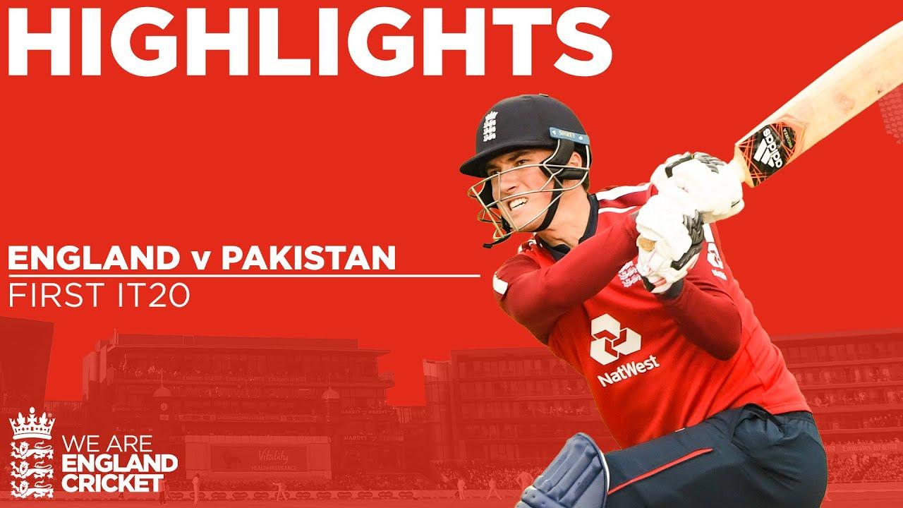 Download England v Pakistan 1st IT20 | Tom Banton Shines Before Rain Stops Play! | Vitality IT20 2020