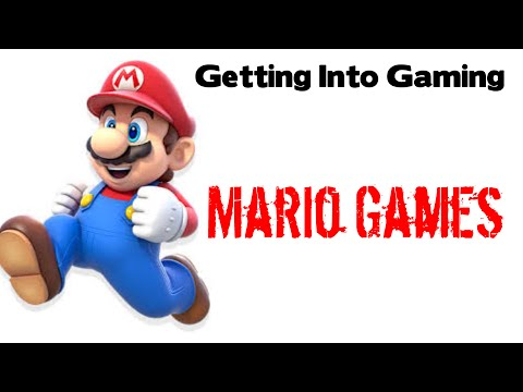 Getting Into Gaming: Mario Franchise (Mario Platformer, 3D, RPG and Kart)