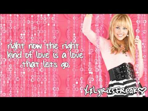 Hannah Montana FT. Billy Ray Cyrus-Love That Lets Go
