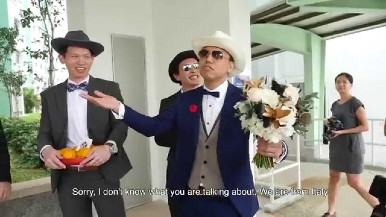 ben and yvonne wedding highlights youtube mafia style