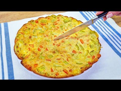 1 Karotte, 1 Zucchini, 1 Ei! Leckere Gemüsekuchen! Warum kannte ich dieses rezept vorher nicht?