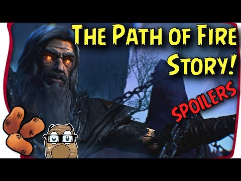 Holy Crap I Finished The Story | Path of Fire Lore, Reactions & Initial Thoughts [ HEAVY SPOILERS]