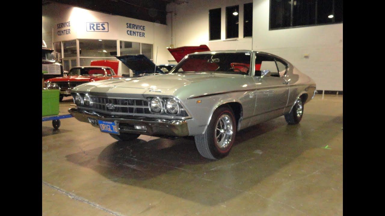 1969 Chevrolet Chevelle Super Sport SS 396 Hardtop Cortez ...