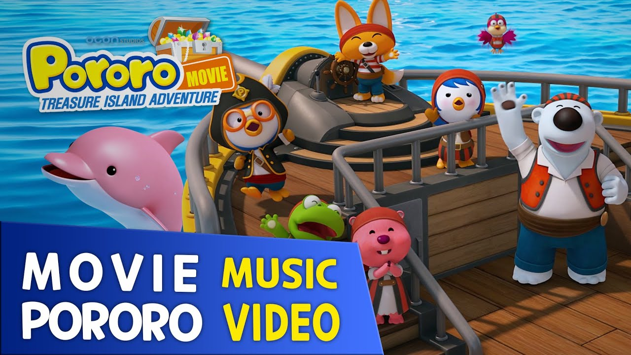 [PORORO MOVIE] Music Video Medley | Eng | 10min play