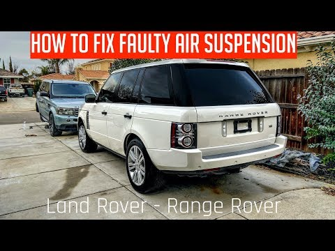 Range Rover Air Suspension Fault FIX | How to Fix Suspension on Land Rover
