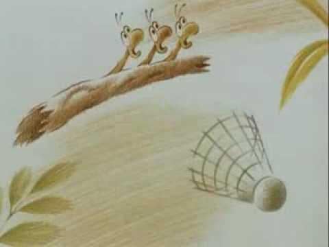 Мультфильм про червячка который хотел летать