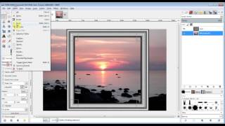 Gimp picture frames from polar coordinates