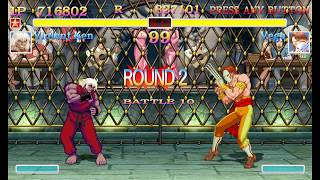 Ultra Street Fighter 2 Violent Ken arcade mode playthrough   Classic Style Sounds (Tough difficulty) thumbnail