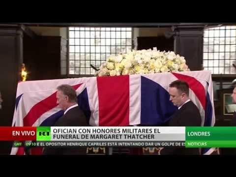 Reino Unido se despide de Margaret Thatcher