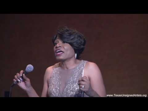 Anita Brown singing 'LOVE' @ Texas Unsigned Artists Red Carpet Gala