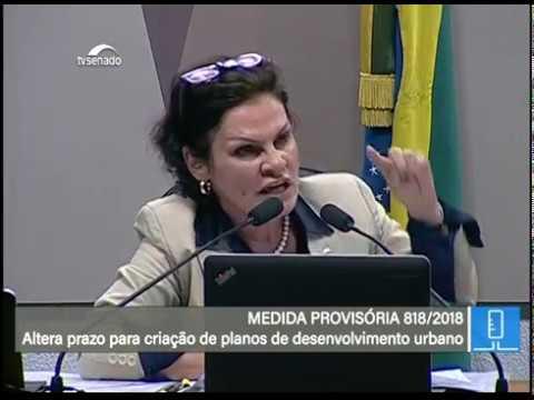 Desenvolvimento urbano - TV Senado ao vivo - MP 818 - 08/05/2018