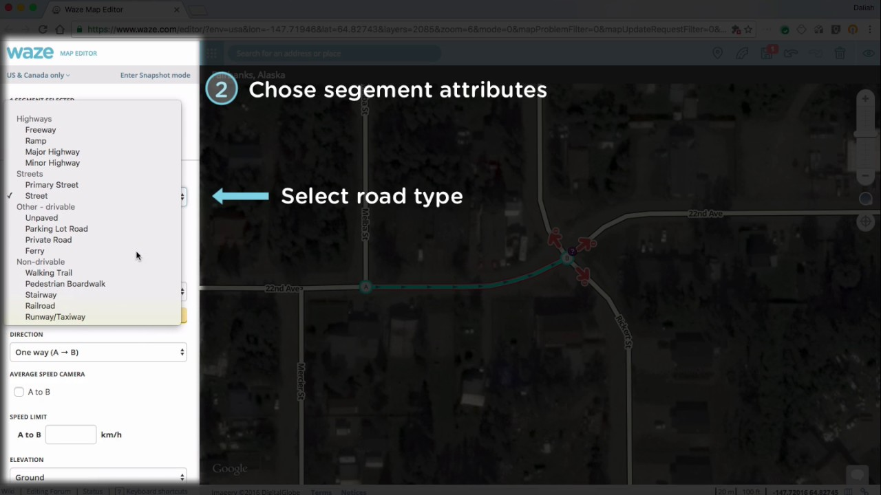 Attributes | Waze Map Editing Academy